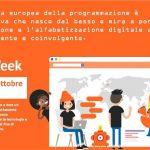 settimana europea del coding