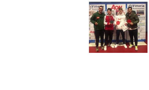 Campionati studenteschi a.s. 2019-2020 – Campioni Provinciali di Tennis Tavolo: Poblete Alexis e Righetto Andrea