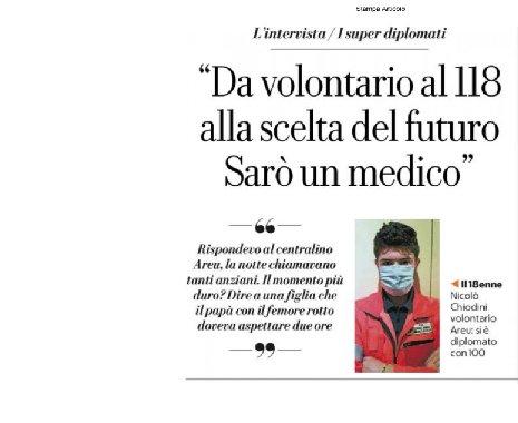 Intervista a Nicolo' Chiodini